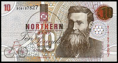 1997 1999 Northern Bank £10 banknote Fine AVF VF EF AUN withdrawn due to robbery