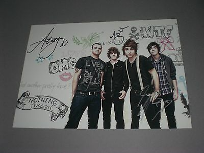 All Time Low  signed signiert autograph Autogramm 20x28 Foto in person