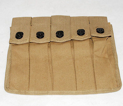 Wwii Us Amry Thompson Magazine Pouch 5 Cell 30 Rounds -31836