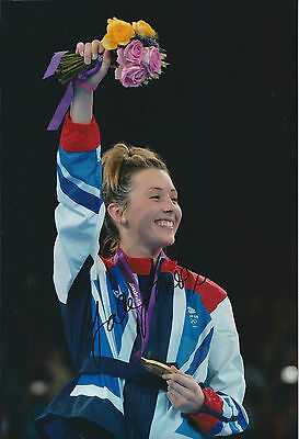 Jade JONES Autograph 12x8 Signed Photo AFTAL COA Taekwondo London Olympics 2012