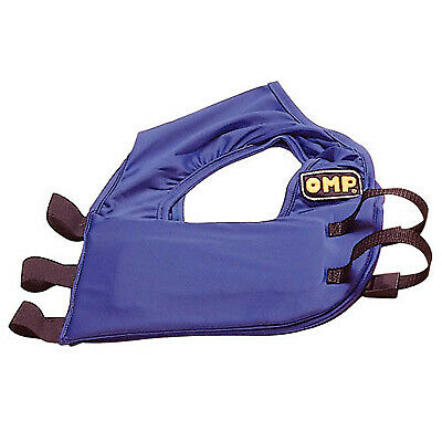 OMP Kart Rib Protection Vest / Waist Coat Karting Race Racing In Blue Small S