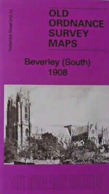 Old Ordnance Survey Maps Beverley South Yorkshire 1908 Godfrey Edition New