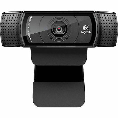 Logitech HD Pro Skype With Mic Webcam C920 Full HD 1080P Video Auto Focus 14MP