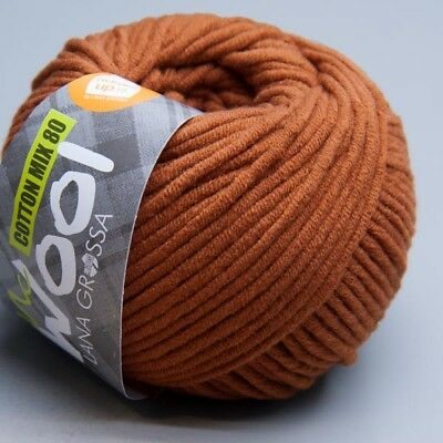 Lana Grossa McWool Cotton Mix 80 - 526 camello 50g Wolle