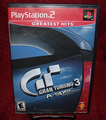 Gran Turismo 3 A-Spec PS2 COMPLETE Sony Racing GH Version