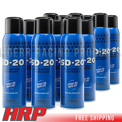 Spartan SD-20 Multipurpose Degreaser Pack of 12 20oz. Cans