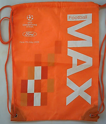 Orig.Tasche / Beutel   Ch.League 05/06  FINALE   BARCELONA CF - ARSENAL LONDON !