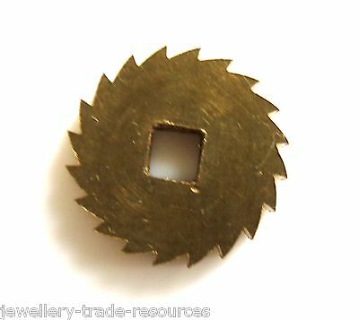 13mm REPLACEMENT BRASS CLOCK WINDING RATCHET WHEEL SPARES REPAIRS PARTS