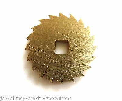 16mm Diameter REPLACEMENT BRASS CLOCK WINDING RATCHET WHEEL SPARES REPAIRS PARTS