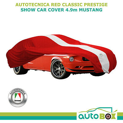 SHOW CAR COVER INDOOR DUST CLASSIC PRESTIGE fits to 4.9m RED Mustang All Models