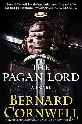 The Pagan Lord by Bernard Cornwell (English) Hardcover Book Free Shipping!