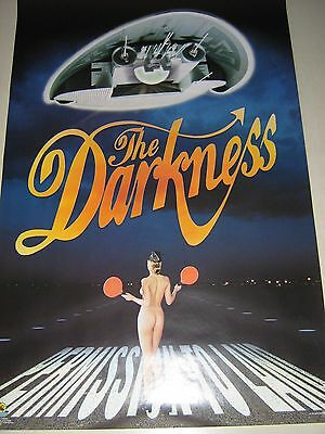 "Darkness Orig.Poster #1051 / ""Permission to Land"" / Excellent + new cond."