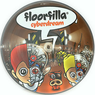Picture Vinyl Floorfilla Cyberdream  Limited Edition