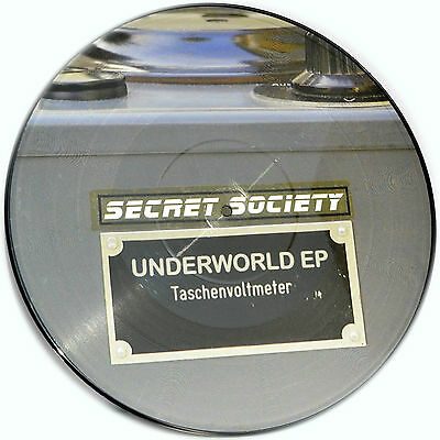 Picture Vinyl Secret Society Underworld EP   Limited Edition