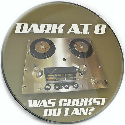 Picture Vinyl Dark A.T.8  Was Guckst Du Lan? Remix Rare Limited Edition