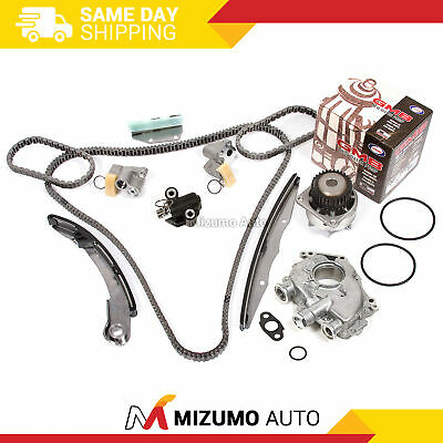 Timing Chain Kit Water Oil Pump Fit Nissan Frontier Xterra Pathfinder VQ40DE