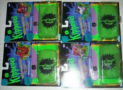 Hasbro 1996 Kippevel Goosebumps Figure Full Set Of 4 Moc Rare Must See