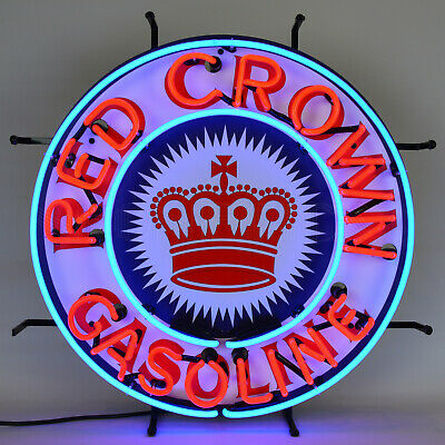 Texaco Star Hexacon Real Neon Sign Texas Gas and oil Gasoline Garage UL Lamp