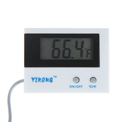 Indoor/Outdoor Mini LCD Display Digital Temperature Thermometer Meter C/F Switch
