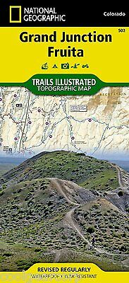 National Geographic Trails Illustrated Colorado Grand Junction / Fruita Map 502