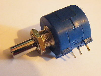 10 Turn Bourns Pot Potentiometer 10K Multiturn Panel Mounting Fine Adjust CP23