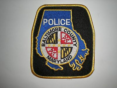 Baltimore County, Maryland Police Department Patch - New