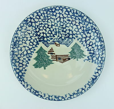 Country Cabin Tienshan China Dinner Plate Folk Craft Sponge Multiple Available