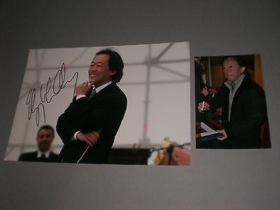 Chung Myung-whun conductor signed autograph Autogramm 8x11 photo in person