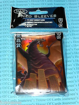 "Sleeves x 50 Deck Protectors ""Destructor"" Max Protection Standard Size"