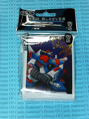 "Sleeves x 50 Deck Protectors ""Robo Wars"" Max Protection Standard Size"