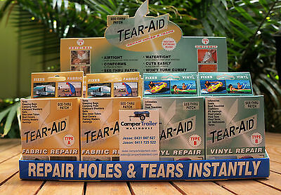 Tear Aid - Repair Blinds / Awnings / Drapes / Invisible Repair Strip Patch