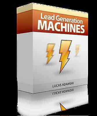 Lead Generation Machine- 3 Unique Landing Page Templates (PSD + HTML) on CD