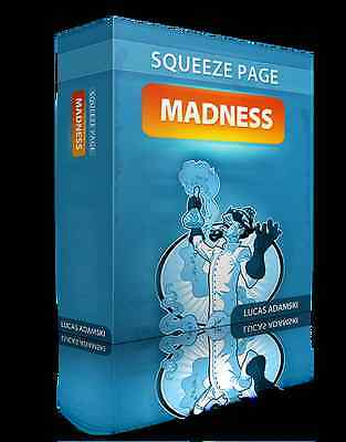 15 Unique & Money-Making Video Squeeze Pages (PSD + HTML) on CD