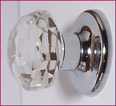 24% Lead Crystal OldTown Cabinet/Bifold/Knob Pulls ANYWHERE FLAT RATE S/H $4.99