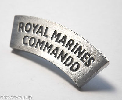 Royal Marines Commando Military Hand Made in the UK Pewter Lapel Pin Badge