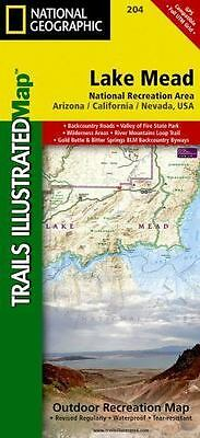 National Geographic Trails Illustrated AZ/NV Lake Mead National Rec Area Map 204