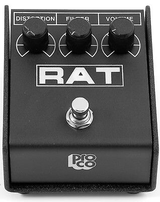 ProCo RAT2 - The Legendary and Classic Distortion Guitar Pedal - New