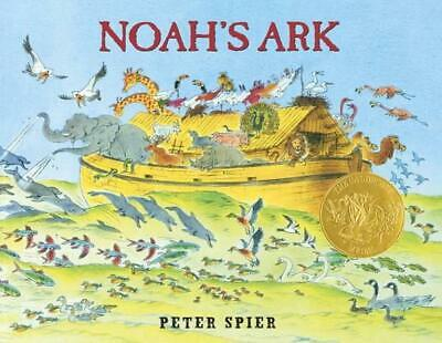 Noah's Ark by Peter Spier (English) Hardcover Book Free Shipping!