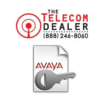 Avaya 1 Seat Endpoint License R6 R7 R8 R9 IP Office IP500 1 Phone 1 User - Email