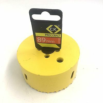 C. K. 89Mm Hss Bi-Metal Holesaw 424030