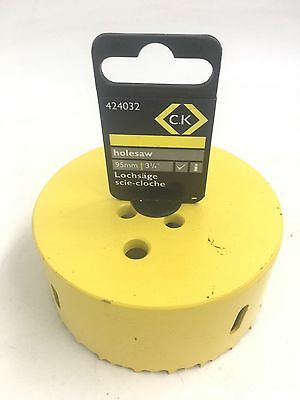 C. K. 95Mm Hss Bi-Metal Holesaw 424032