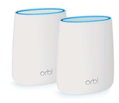Netgear Orbi Whole Home Mesh System RBK20 AC2200 TriBand Wireless Gigabit Router