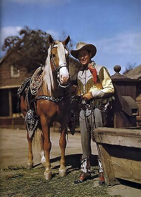 Roy Rogers And Trigger 8X10 Glossy Photo Picture