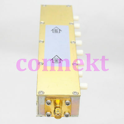 RF Coaxial Adjustable Step 1db Attenuator SMA connector DC-2.5GHz 5 Watts 0~90dB
