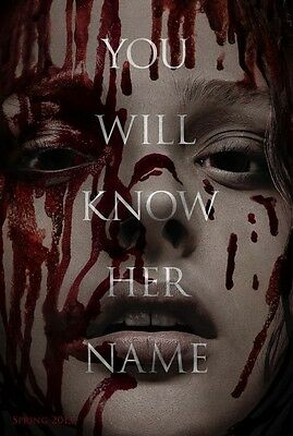 Carrie Advanced Promotional Movie poster (2013)