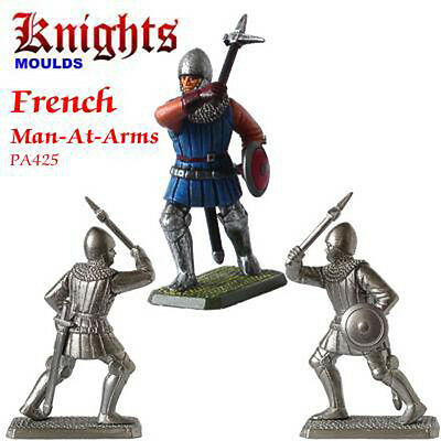 Prince August  ZinnGiesform  Mittelalter  French Man-At- Arms with warhammer 425