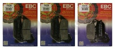 Honda CB600F CB600 Hornet 1998-2006 Set of EBC Front and Rear Brake Pads