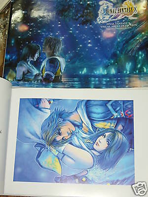 FINAL FANTASY X 10 Visual art collection book Japanese