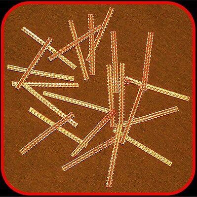 MICRO-SCALEXTRIC Car spares,Copper Braids/Brushes,pk 20