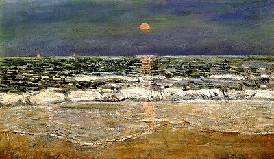 East Hampton 1920 New York America Impressionist Painting By Childe Hassam Repro